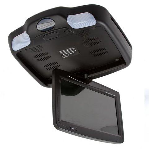 """9"""" Автомобільний стельовий монітор з DVD-плеєром (чорний) Прев'ю 4"""
