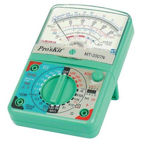 Aналоговый мультиметр Pro'sKit MT-2007N