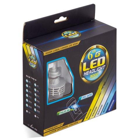 Набір світлодіодного головного світла UP-6HL (H7, 3000 лм) Прев'ю 2