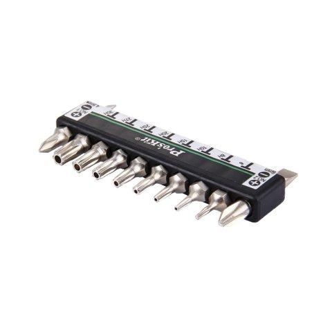 Набір біт Pro'sKit 1PK-212H з Г-подібною рукояткою Прев'ю 2