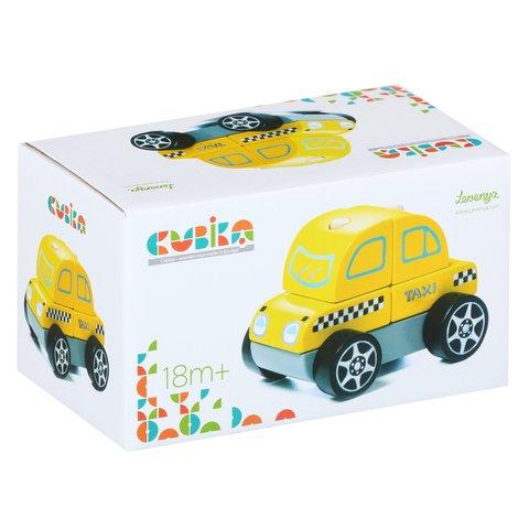 Деревянный конструктор CUBIKA Такси LM-6 - /*Photo|product*/