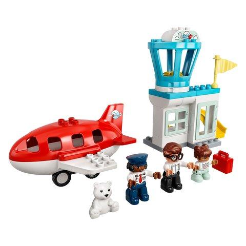 Конструктор LEGO DUPLO Самолет и аэропорт 10961 Превью 2